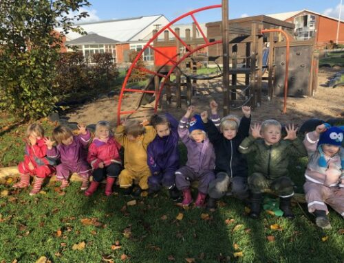 Efterårsstemning i børnehaven
